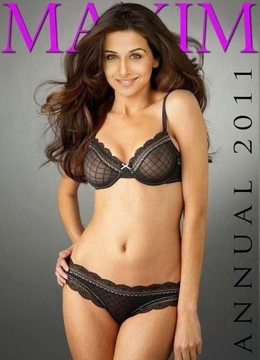 Black Bikini Picture Of Vidya Balan