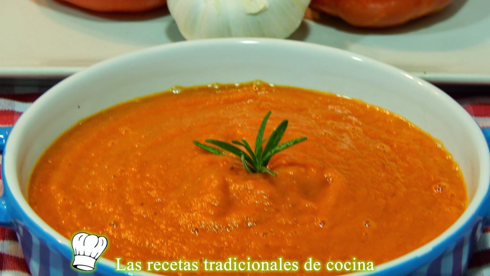 Receta de la salsa de tomate casera
