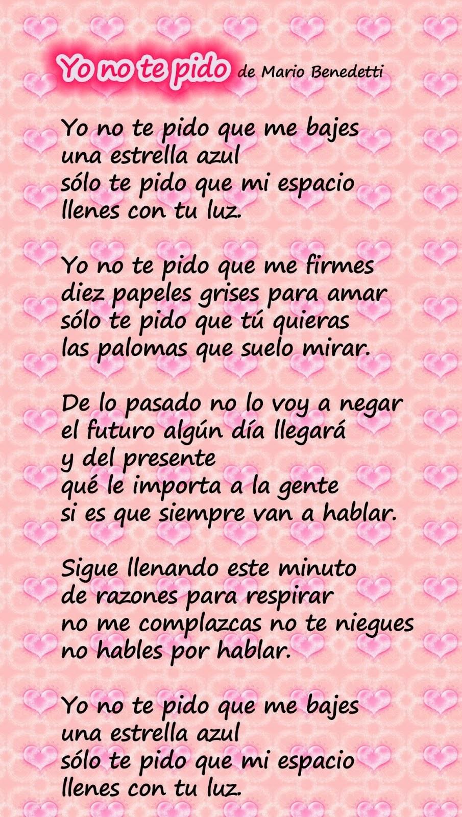 Frases De Amor: Yo No Te Pido