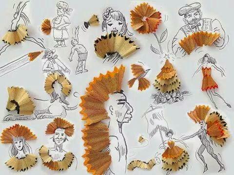 Seni Menarik Imaginasi Objek Harian