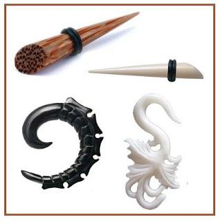 Wooden Bone Horn Stretcher Alargador de Madeira Osso e Chifre