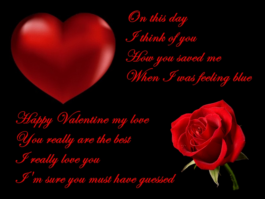 We Have The Best Collection Of Happy Valentines Day My Love Poem. You Can  Send The Pictures Of Valentineu0027s Day Greetings To The Ones You Love For  Free.