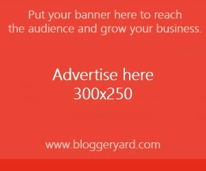 Advertise With Blogger Yard