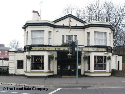 angielski pub, piwo, cena piwa w wielkiej brytanii, grossvenor pub, mansfield road, nottingham