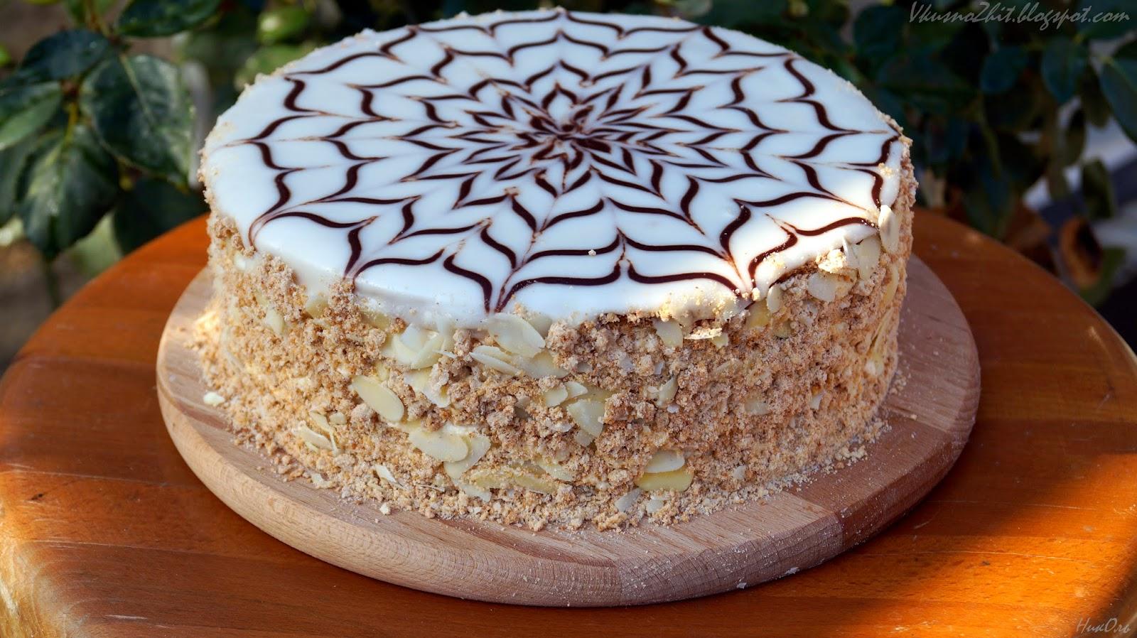 Торт паутинка с безе рецепт пошагово в домашних