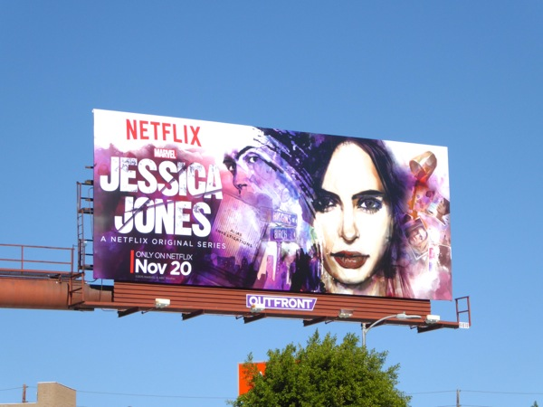 Jessica Jones series premiere billboard
