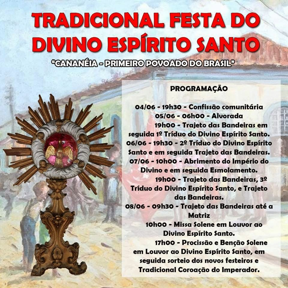 Festa do Divino em Cananéia