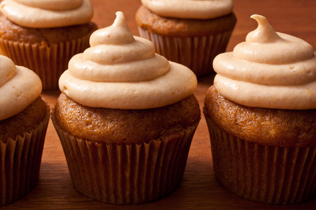 ... the Air~Pumpkin Spice Cupcakes with a Pumpkin–Cream Cheese Frosting