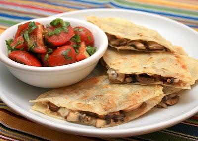manchego and mushroom quesadillas they remain one of my favorites