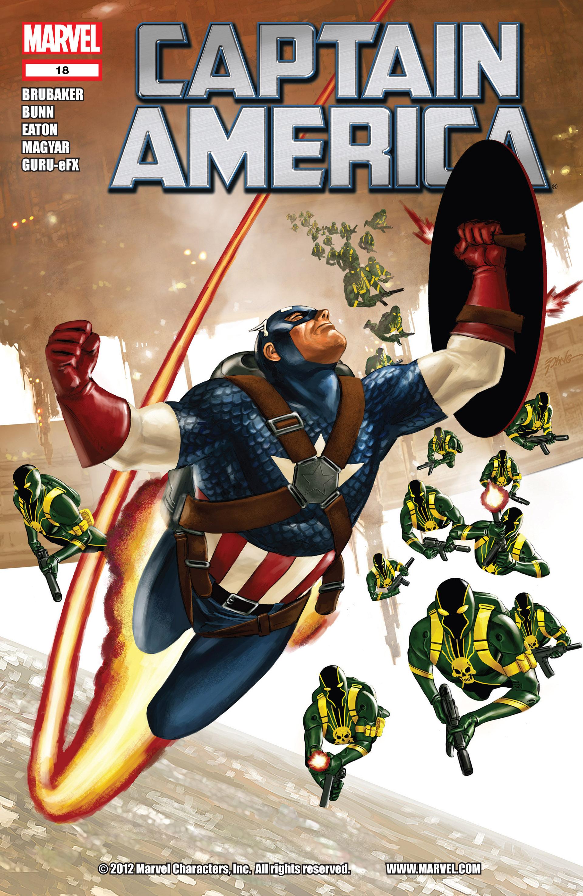 Captain America (2011) Issue #18 #18 - English 1