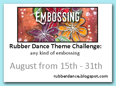 Rubber Dance Stamps Theme Challenge