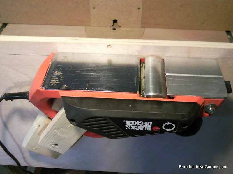 How to make a planer with your electric hand planer, enredandonogaraxe.com