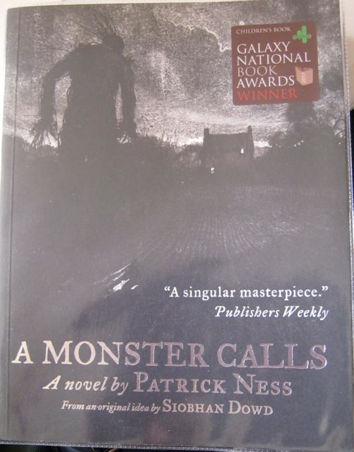 Book Review  A Monster Calls by Patrick Ness   Through a Seattle         A Monster Calls by Patrick Ness
