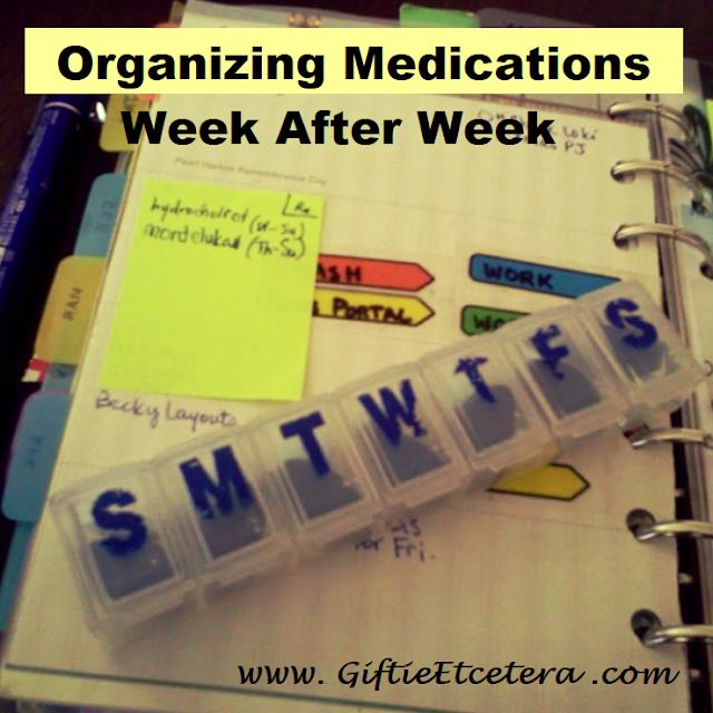 Planner, medicine sorter