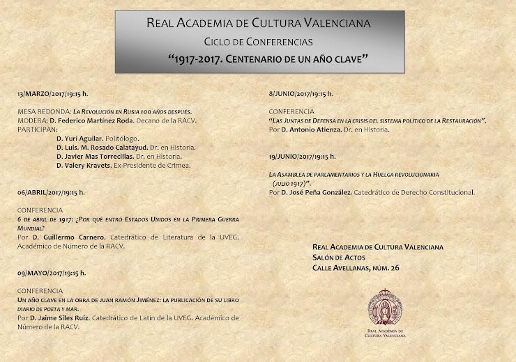 ACV 01 RACV CICLE DE CONFERENCIES