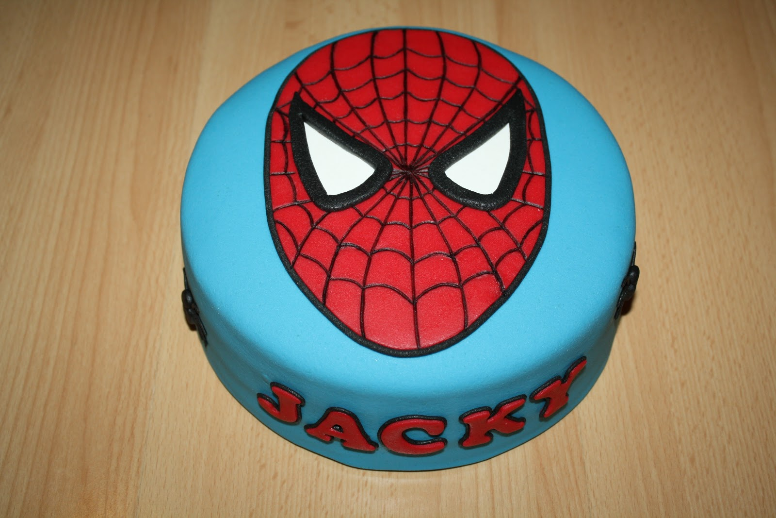 Bekend Karin's Taarten: Spiderman-taart WD-62