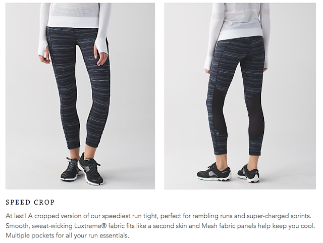 lululemon speed-crop