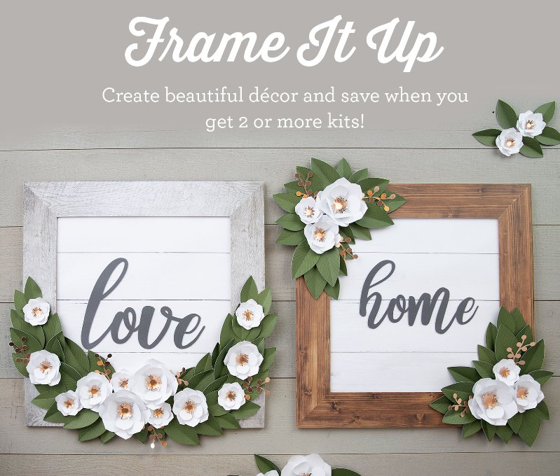 National Papercrafting Month - Frame It Up