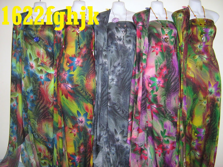 CDA 1622 (FGHJK): CREPE DIGITAL AWANA, KOREAN MADE, CANTIK MENARIK, 4 METER, 10 COLORS