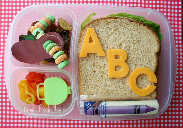 Bento Back to School Lunch