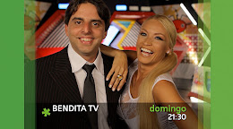 CLAUDIA Y EL PIE CON BENDITA TV:  DOMINGOS 21:30 HRS POR CANAL 10