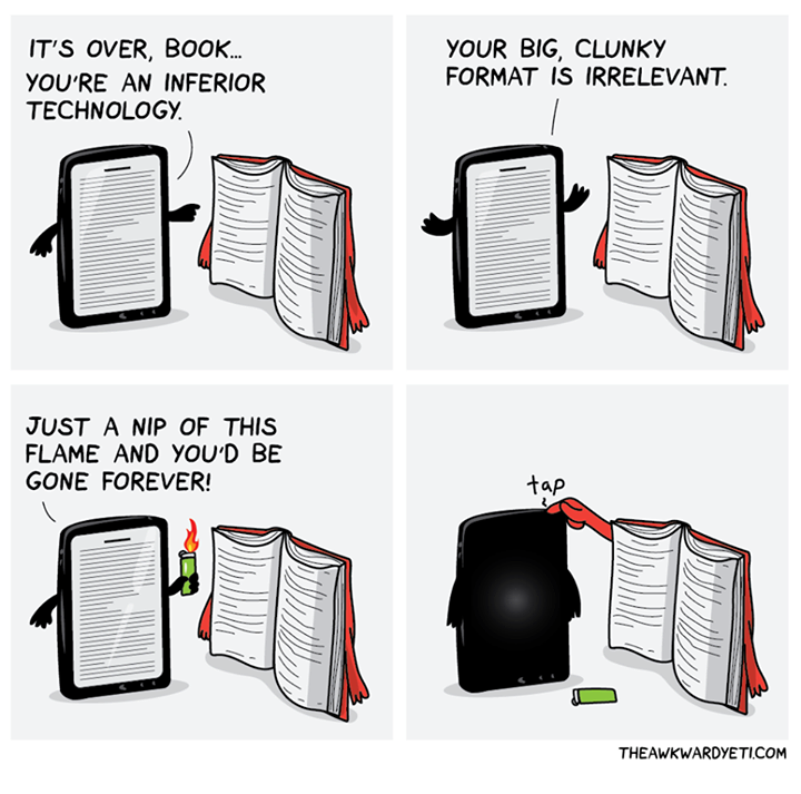 Ebooks VS Printed Books: Which Is Preferred Now?
