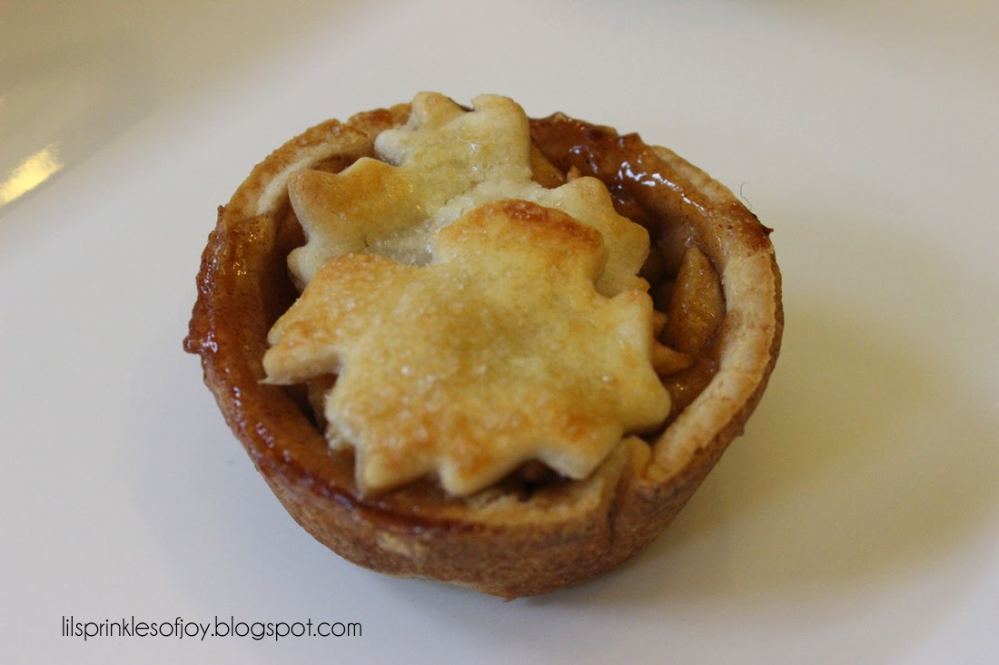 Lil' Sprinkles Of Joy: Mini Apple Pies
