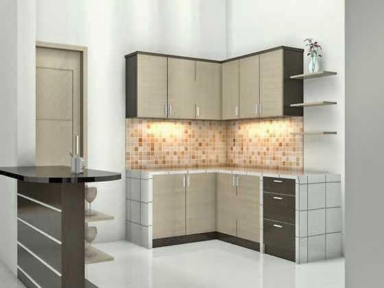 Model Desain Interior Dapur Rumah Minimalis terbaru