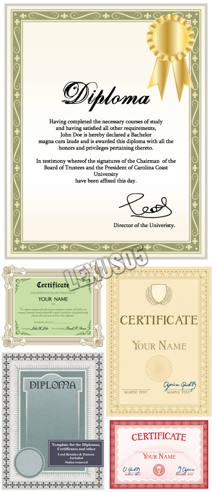 High+school+diploma+certificate+fancy+design+templates