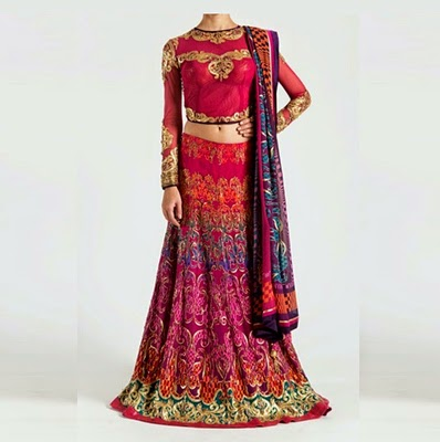 Latest Bridal Wear Dress by Satya Paul
