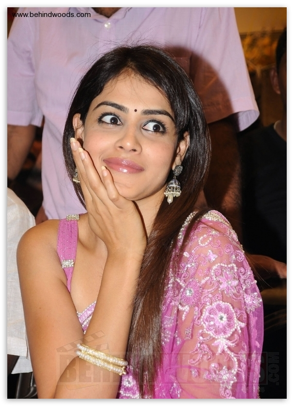 Crazy Adventure: Genelia in pink dress