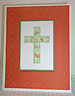 Baptism Card featuring Crosses of Hope stamp set