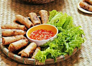 Vietnamese Fried Spring Rolls (Nem ran)