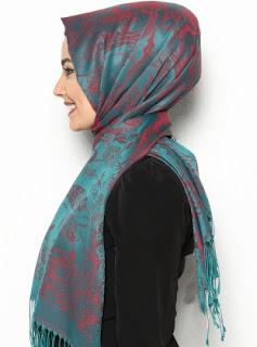 hijab simpel ala wanita turki