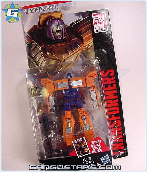 トランスフォーマー Takara Transformers Huffer Combiner Wars