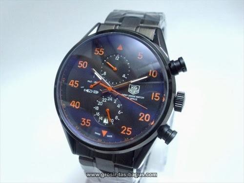 Jam Tangan KW Super Terbaru Murah dan Bagus Tag Heuer 339 Space-X Full Black