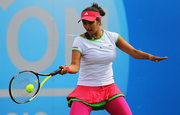 Sania Mirza at London 2012 Summer Olympics