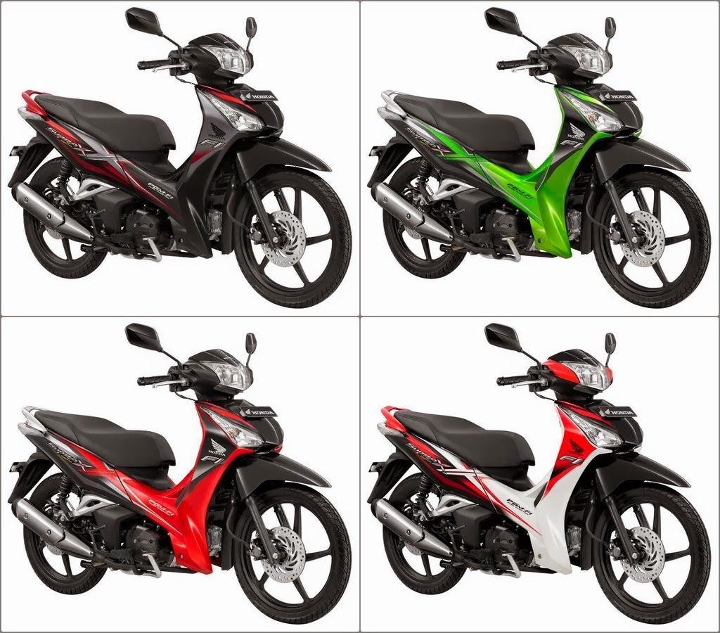 HARGA SPESIFIKASI New Honda Supra X 125 FI Motor Terbaru 2014