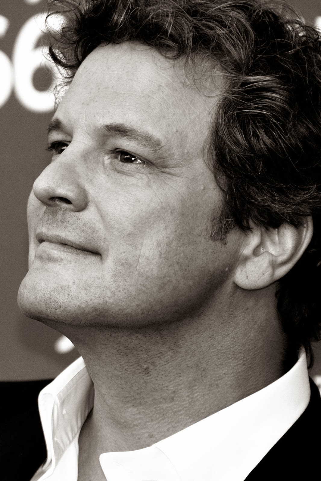 Colin Firth ad Hackney. luoghi di Londra. Life in London