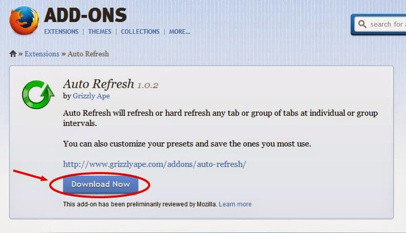 auto-refresh-mozilla-addon
