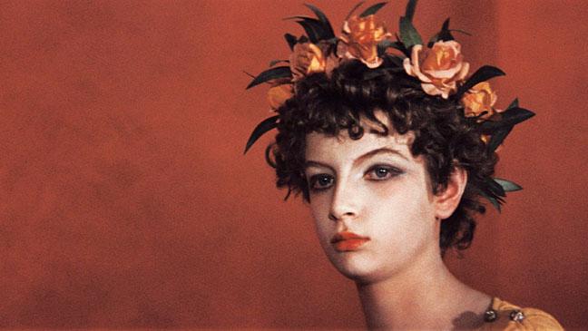Fotograma de la película Satyricon de Fellini (1969)