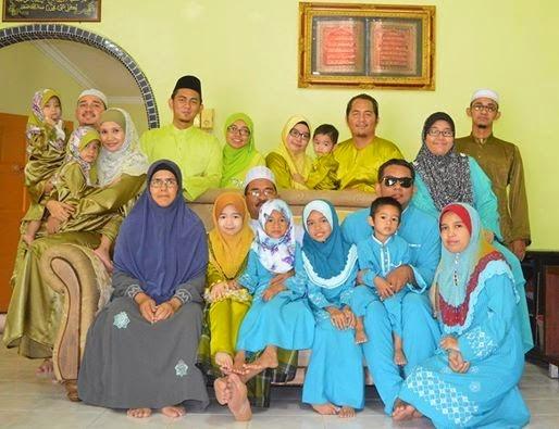 bersama family papa Balqis N Qistina