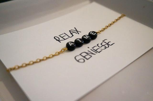 DIY Armband für die beste Freundin  zu Weihnachten