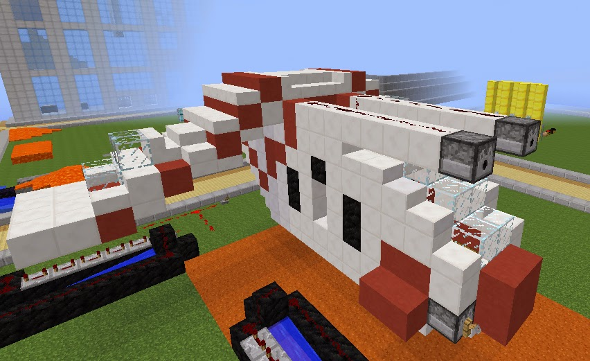 Minecraft Star Wars Build: Republic Gunship by CloneBrett