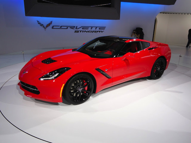 2014 Chevrolet Corvette Stingray Officially Produces of 460 HP
