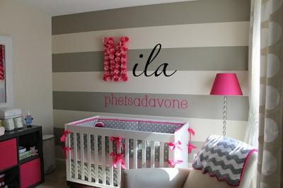 dormitorio rosa gris