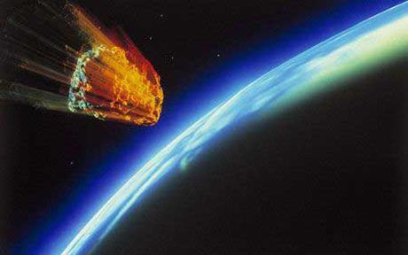 asteroid,hit earth,earth,image