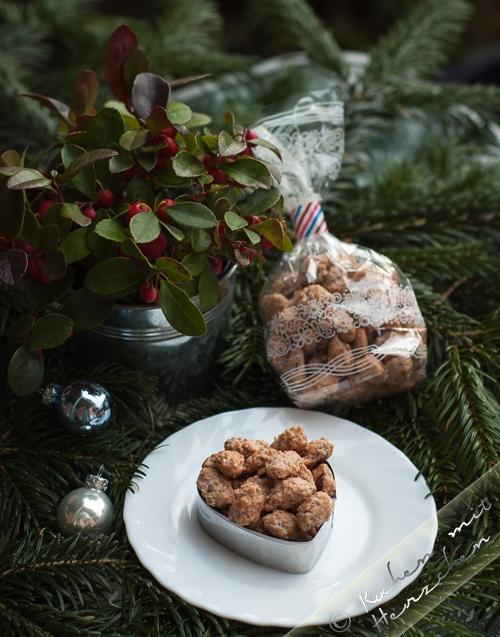 Weihnachtsbäckerei - gebrannte Mandeln