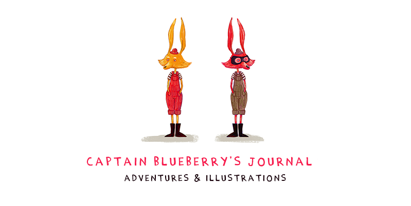 Captain Blueberry illustration