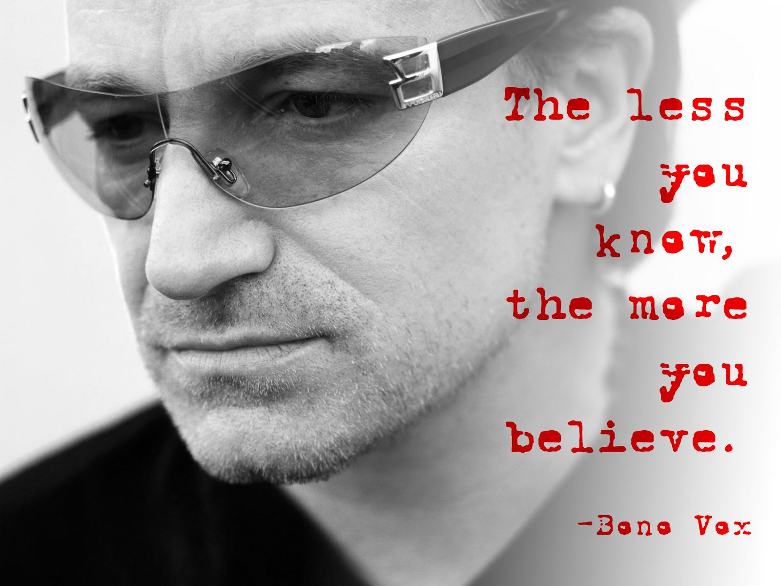 Timeless Quotes: Bono ... Jay Z